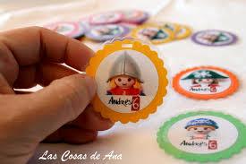 Las Cosas De Ana Etiquetas Playmobil