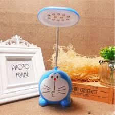 Đèn học để bàn mèo máy Doremon xanh dương