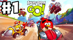 Angry Birds Go! Gameplay Walkthrough Part 1 - Red and Stella at ...