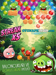 Angry Birds POP Bubble Shooter Hile Mod Apk İndir (v3.27.1) - Oyun Apk indir