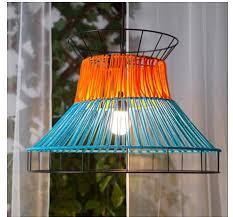 solvinden led pendant lamp orange