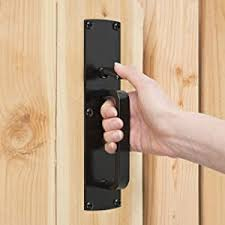 Amazon Com Gate Thumb Latch N109 050 By National Hardware In Black Home Improvement