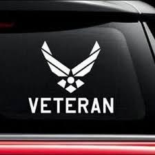 Us Air Force Veteran Window Decal In 2020 Air Force Veteran Air Force Veteran