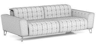 roche bobois satellite 2 sofa 3d model