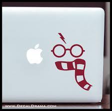 Harry S Gryffindor Scarf Harry Potter Inspired Fan Art Vinyl Car Lap Decal Drama