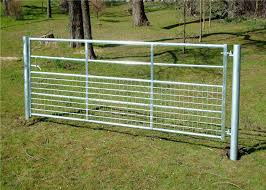 Easy Assembled Cattle Fence Panel Full Welded Connection Galvanized Tube Material