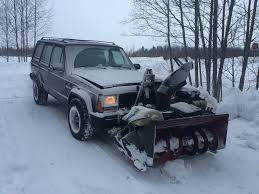 snowplow with the homemade twist