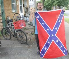My Neighbor In Plattsburgh Put A Confederate Flag In His Window So I Knocked On His Door Ncpr News