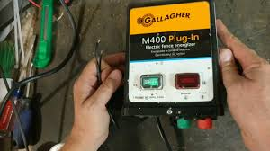 Electric Fence Charger Repair Gallagher M400 Youtube