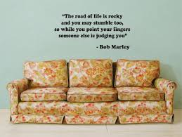 Bob Marley The Road Of Life Is Rocky Decal Quote Sticker Wall Vinyl Ar Boop Decals