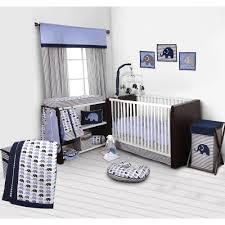 bacati elephants 10 piece crib bedding
