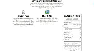 caveman foods reviews 2020 services
