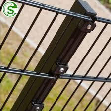China High Security Black Twin Wire Fencing Panels Green Backyard Metal Fence China Backyard Metal Fence Twin Wire Fence