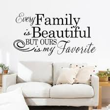 Characters Family Beautiful Wall Sticker Living Room Removable Wall Ellaseal