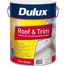 Dulux 10l Roof And Trim Surfmist Exterior Paint Bunnings Warehouse