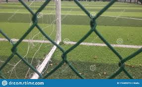 A Close Up Of A Football Training Ground This Is A Miniature Football Training Ground Stock Image Image Of Miniature Football 174405373
