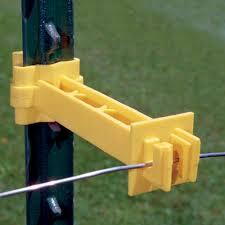 Zareba Yellow Screw On 5 T Post Extender Insulator 25 Pieces At Menards