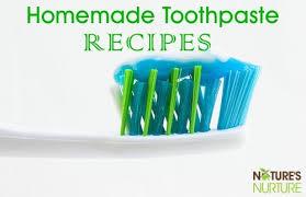 10 homemade toothpaste recipes