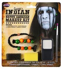 american indian makeup kit by fun world