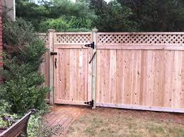 Wood Fence Lattice Wood Fence Panels