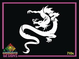 Dragon Design 710x Vinyl Decal
