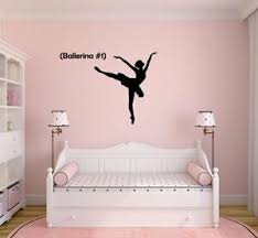 Dance Ballerina 1 Vinyl Decal For Car Truck Window Wall Decor Bedroom Yeti Ebay