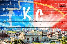 Kansas City Sunny Skyline Wall Decals Peel Stick Re Movable Wall Art Zapwalls