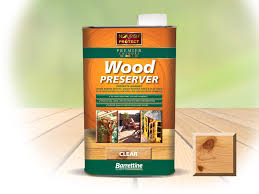 Barrettine Premier Wood Preserver Clear Solvent Based