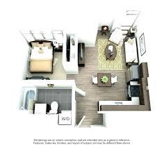studio apartment layout ideas
