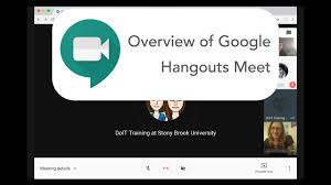 Google Hangouts Meet (Web Conferencing ...