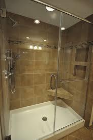 pretty kohler shower base in bathroom