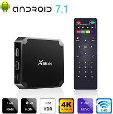 Amazon.com: JHZL Android 9.0 TV Box X96 Mini 1GB RAM 8GB ROM Android TV Box  Amlogic S905W Quad-core with 2.4G WiFi 100M Ethernet H.265 4K UHD HDR Smart  Digital Media Player: Electronics