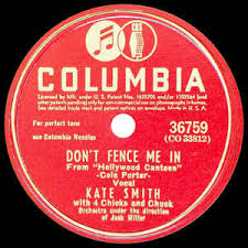 Kate Smith Don T Fence Me In There Goes That Song Again 1944 Shellac Discogs