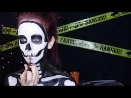 neon glow in the dark skeleton makeup