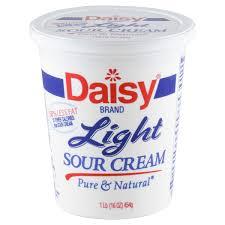 daisy light sour cream 16 oz sour