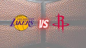 Lakers vs Rockets NBA Betting Odds ...