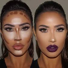 makeup contouring highlighting the