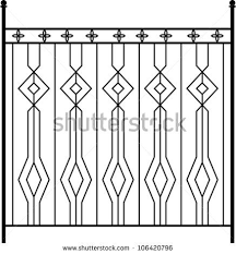 Wrought Iron Gate Door Fence Window Grill Railing Design Railing Design Wrought Iron Gate Window Grill Design