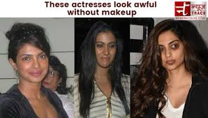 actresses look awful without make up