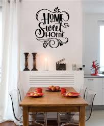 Home Sweet Home Vinyl Decal Wall Stickers Letters Words