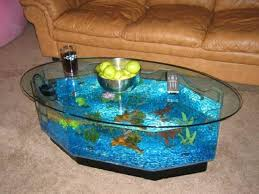 coffee table fish tank for