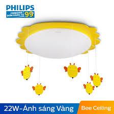 Đèn trần phòng trẻ em Philips LED Bee 77505 22W | Shopee Việt Nam