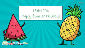 Happy Summer Holiday Images And Quotes