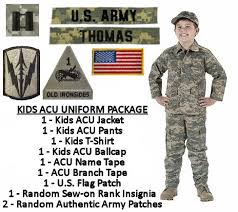 supply sergeant kid s army clothes