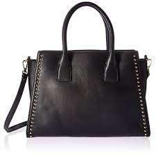 black studded handbag com