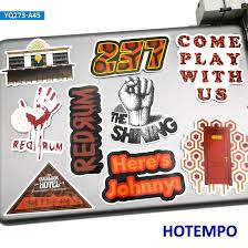 Merchandise Promotional Entertainment Memorabilia The Shining Movie Logo Vinyl Decal Sticker 80s Horror Stephen King Overlook Merchandise Promotional Entertainment Memorabilia
