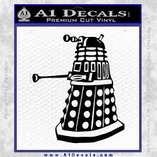Doctor Who Dalek Decal Sticker D1 A1 Decals