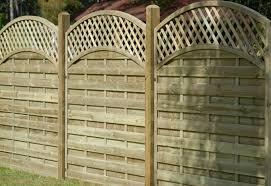Reinas Modern Fence Panel Eastern Fencing Timber Supplies Ltd