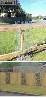 60 Gabion Fence Ideas Gabion Fence Gabion Wall Garden Design