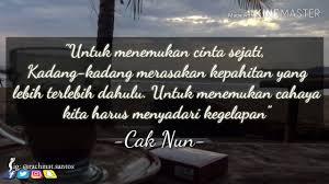 status wa quotes cak nun
